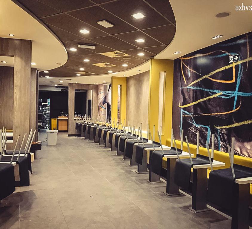 Interior installation, BRUSSELS, Belgium